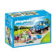 4008789092786 - PLAYMOBIL® City Life - Toiletteuse avec véhicule