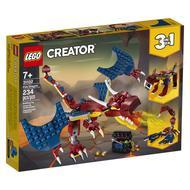 5702016616286 - LEGO® Creator - 31102- Le dragon de feu