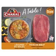 3181238969486 - Charal - Pavé de Boeuf & légumes du soleil