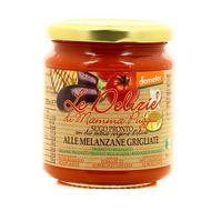 8021115290287 - Le Delizie Di Mamma Puggia - Sauce Tomate et aubergines grillées, bio Demeter