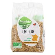 3322693000387 - Monbio - Graines de Lin doré bio France