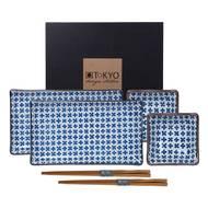 8718754060387 - Tokyo Design Studio - Coffret sushi Japan Flower