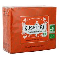 3585810082387 - Kusmi Tea - English Breakfast Bio - Etui sachets mousseline - 40g