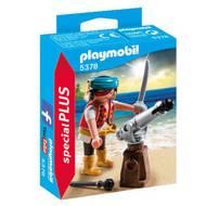 4008789053787 - PLAYMOBIL® Spécial Plus - Canonnier des pirates