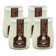 2050000285387 - Ferme de Viltain - Yaourt Lait Entier Saveur Noix de Coco