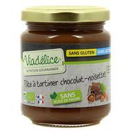 3760092217287 - Viadélice - Pâte à tartiner chocolat-noisettes bio sans gluten