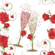 4021766258487 - Paperproducts Design - Serviettes papier To Love 33x33 cm