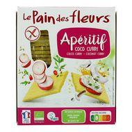 3380380089787 - Le pain des fleurs - Tartine apéro coco curry bio