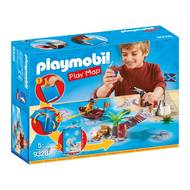 4008789093288 - PLAYMOBIL® Play Map - Pirates avec support de jeu
