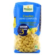3380380087288 - Priméal - Coude 1/2 complet bio cuisson 3mn