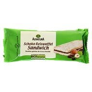 4104420177888 - Alnatura - Double galette de riz fourré au chocolat