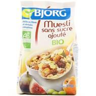 Bjorg - Muesli aux fruits bio sans sucres ajoutés