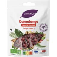 3760099531089 - Pronatura - Cranberries bio origine Canada