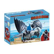 4008789092489 - PLAYMOBIL® Dragons - Drago avec dragon de combat