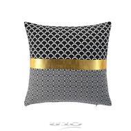 3574386093989 - Douceur D Interieur - Housse de coussin Coton Blackor