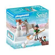 4008789703989 - PLAYMOBIL® Spirit - La Mèche et Monsieur Carotte en hiver