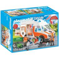 4008789700490 - PLAYMOBIL® City Life - Ambulance et secouristes