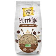 3421557101090 - Grillon Or - Porridge d'avoine et chocolat bio