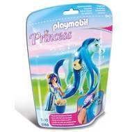4008789061690 - PLAYMOBIL® Princess - Princesse Bleuet avec cheval à coiffer