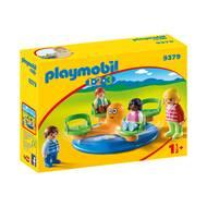 4008789093790 - PLAYMOBIL® 1.2.3 - Enfants et manège