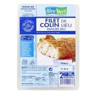 3551610009190 - Bleu Vert - 2 Filets de colin-lieu MSC panure bio 2x100g