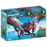 4008789700391 - PLAYMOBIL® Dragons - Agrippemort et Grimmel