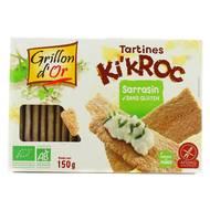 3421557401091 - Grillon Or - Tartines ki'kroc sarrasin sans gluten bio