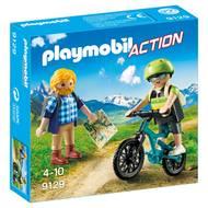 4008789091291 - PLAYMOBIL® Action - Randonneur et cycliste