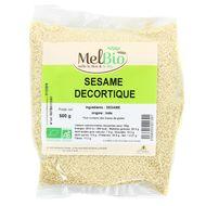 3556355021391 - Melbio - Graine de Sésame Décortiqué Bio