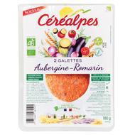 3175681262591 - Céréalpes - Galette aubergine romarin bio x2