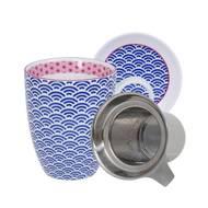 8719323533691 - Tokyo Design Studio - Tisanière avec filtre Star Wave D Blue 15715