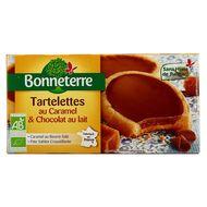 3396410216191 - Bonneterre - Tartelette caramel et chocolat lait  bio