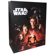3701037600092 - Star Wars - Sac cadeau format livre avec cordelettes