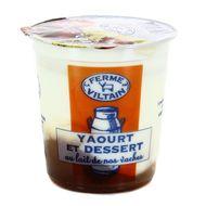3760074380992 - Ferme de Viltain - Yaourt bicouche crème de marron