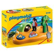 4008789091192 - PLAYMOBIL® 1.2.3 - Ile de pirate