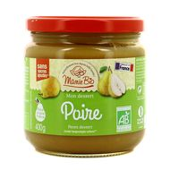 3456300011692 - Mamie Bio - Dessert poire bio sans sucres ajoutés