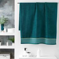 3574388012292 - Douceur D Interieur - Drap de bain Belina Bleu