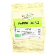 3556355013792 - Melbio - Farine de Riz 1/2 complet bio