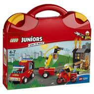 5702015868792 - LEGO® Juniors - 10740- La valisette les pompiers