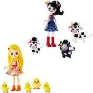 0887961819892 - Mattel - Enchantimals- Coffret famille animaux- Gjx43
