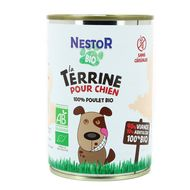 3760255510293 - Nestor Bio - Terrine pour Chien 100% Poulet Bio
