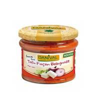 3431590013212 - Danival - Sauce au tofu façon Bolognaise bio