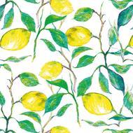 4021766246293 - Paperproducts Design - Serviettes papier Beautiful Lemons 33x33cm