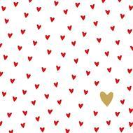 4021766247993 - Paperproducts Design - Serviettes papier Little Hearts 33x33 cm