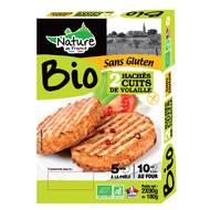 3422210440594 - Nature De France - Haché cuit de volaille Bio