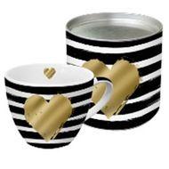 4021766221894 - Paperproducts Design - Coffret mug en porcelaine coeur doré