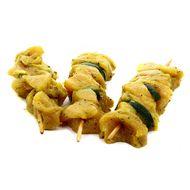 3596690753694 - Père Dodu - Brochettes de poulet Basilic & Courgette