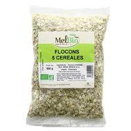 3556355024194 - Melbio - Flocons 5 Céréales