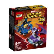 5702015868594 - LEGO® Super Heroes Marvel - 76073- Mighty Micros  Wolverine contre Magneto