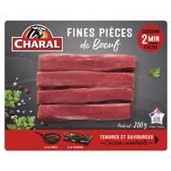 3181238969394 - Charal - 4 fines pièces de Boeuf
